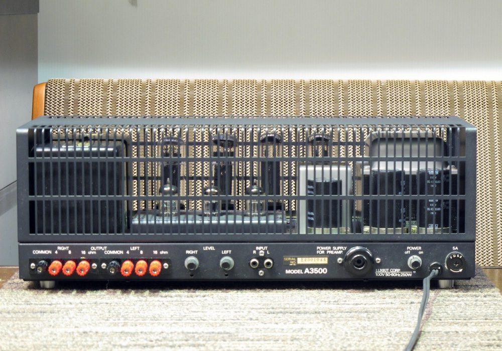 LUXKIT A3500 电子管 功率放大器