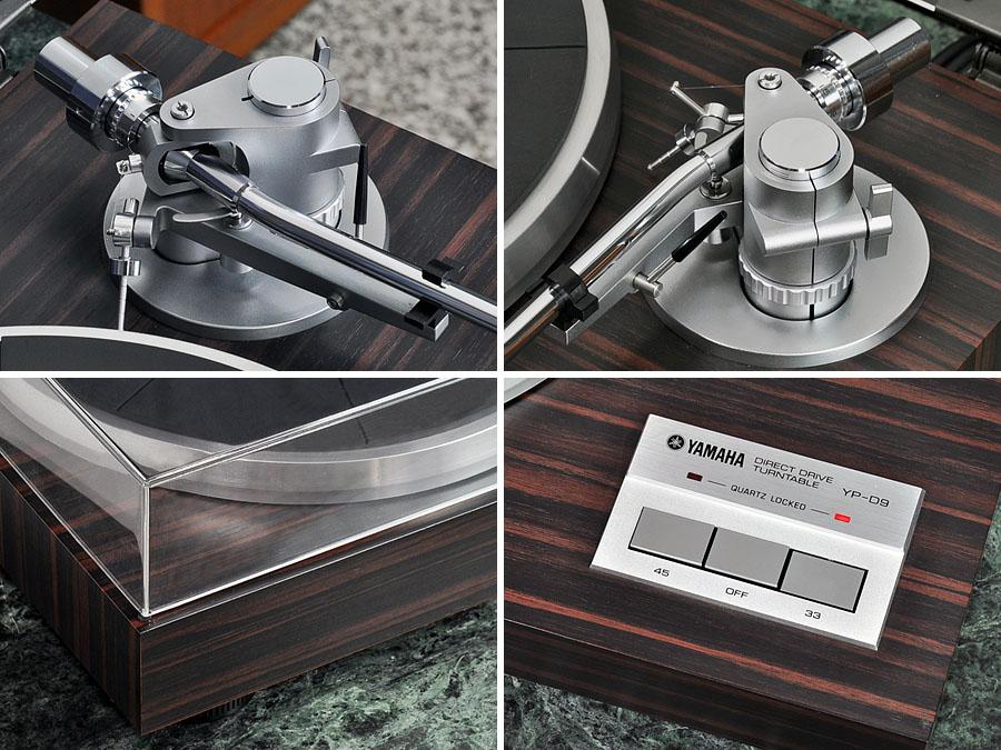 雅马哈 YAMAHA YP-D9 黑胶唱机