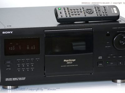 索尼 SONY CDP-CX250 200碟连放 CD播放机