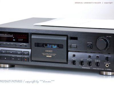 索尼 SONY TC-K808ES HighEnd ES 磁带 Tape 卡座 1A-Zustand! Revidiert+1j.Garantie!!