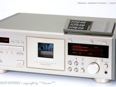 TEAC V-7000 High-End 磁带-卡座 inkl. FB 1A-Zustand!! Revidiert+1J.GARANTIE!!