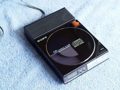 索尼 SONY D-5A Discman CD随身听 (1985)