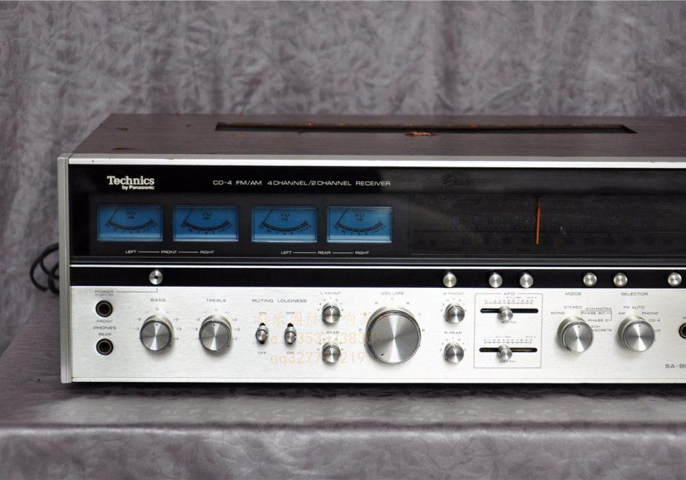 松下 Technics SA-8000x 收扩机 (1973)