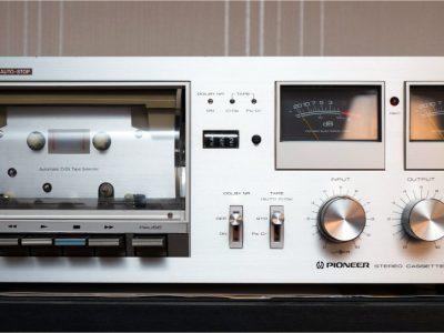 先锋 PIONEER CT-606 双表头卡座