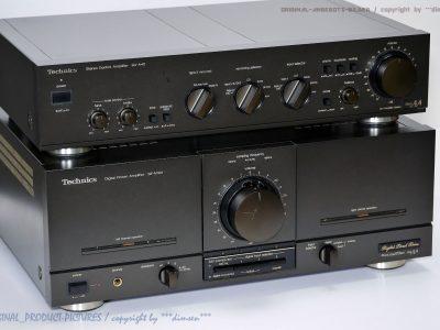 松下 Technics SE-M100 + SU-A40 前后级功率放大器