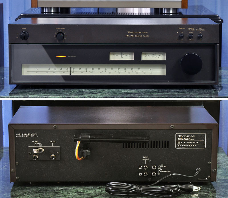 Technics ST-8075(75T) FM/AM 收音头