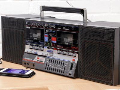 夏普 SHARP GF-800 立体声 双卡收录机