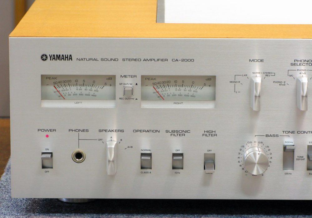 YAMAHA CA-2000 功率放大器