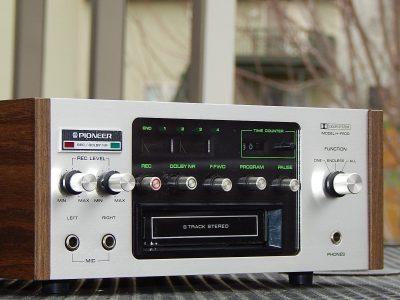 先锋 PIONEER H-R100 8轨 磁带录音卡座