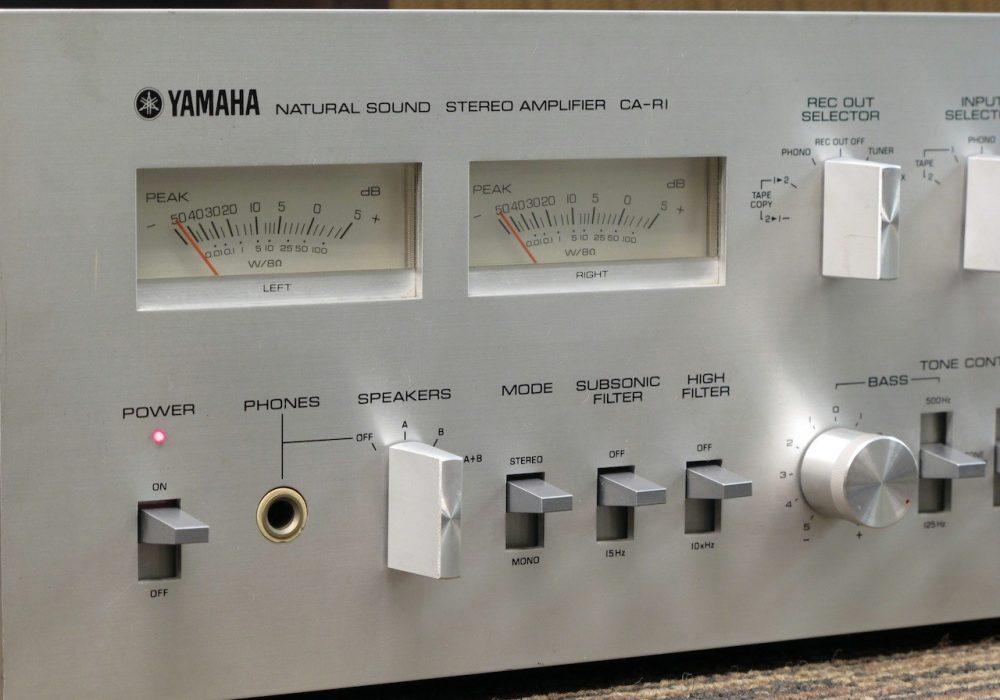 YAMAHA CA-R1 功率放大器