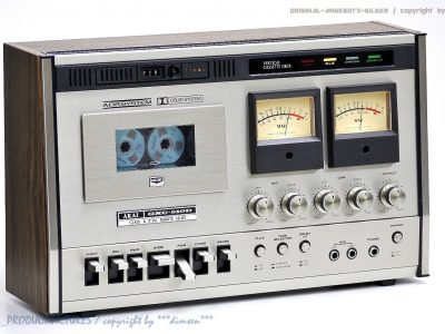 雅佳 AKAI GXC-510D 双表头古典卡座