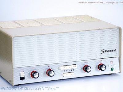 飞利浦 PHILIPS AG9015 电子管收音机
