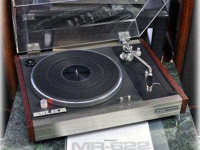 MICRO MR-622 黑胶唱机