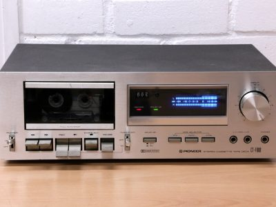 PIONEER CT-600 vintage Hi-Fi analogue cassette tape deck SUPERB Japan SERVICED