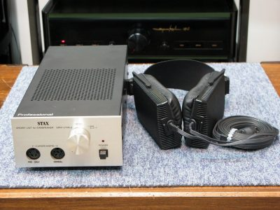 STAX SRM-1/MK2 头戴式静电耳机
