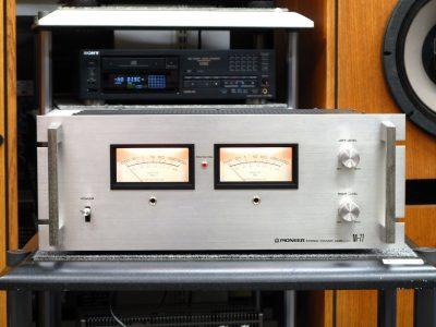 PIONEER M-77 功率放大器