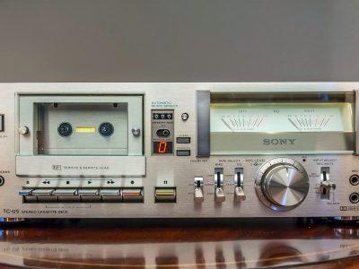 索尼 SONY TC-U5 Hi-Fi 卡座