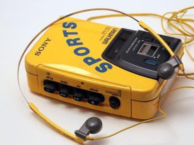 索尼 SONY WM-B52 运动型 磁带随身听