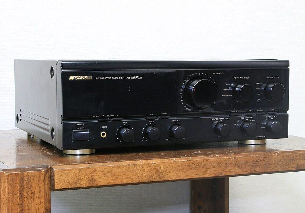 SANSUI AU-α607DR 功率放大器