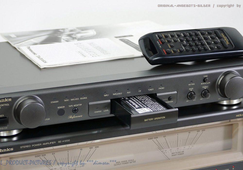 松下 Technics SU-C1000 / SE-A1000 High-End 前后级功放