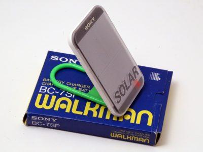 索尼 SONY BC-7SP 随身听 太阳能充电器
