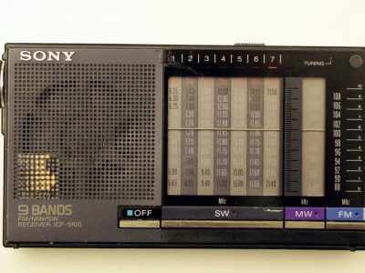 索尼 SONY ICF-5100 9波段 便携收音机
