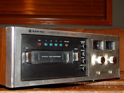 三洋 SANYO RD-8020A 8轨卡座