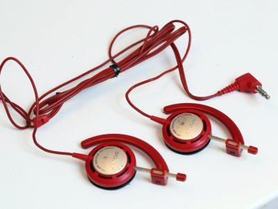 索尼 SONY MDR-E22(RD) 小头戴耳机