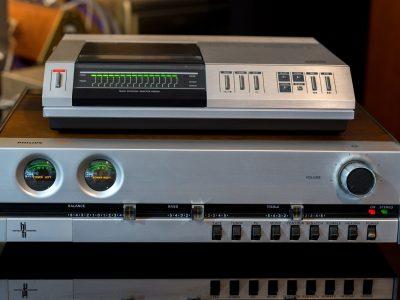 PHILIPS CD101 + PHILIPS 520 功率放大器