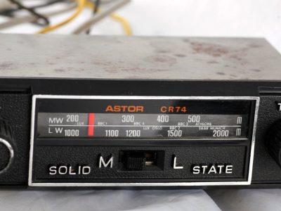 ASTOR CR74 Solid State 车载收音机