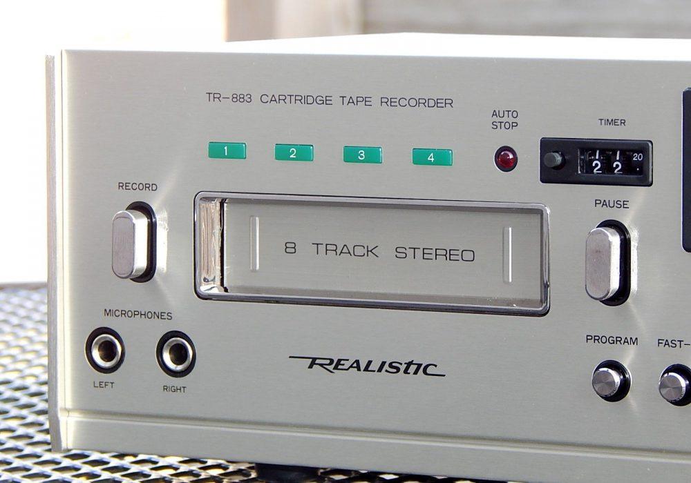 REALISTIC TR-883 8 Track 8轨磁带卡座