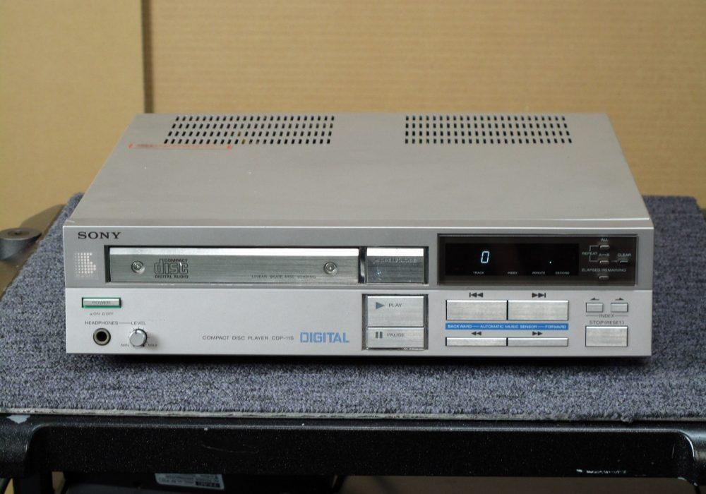 SONY CDP-11S CD播放机