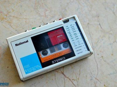 松下 National RX-F85 磁带随身听+ National RN-Z36 磁带采访机