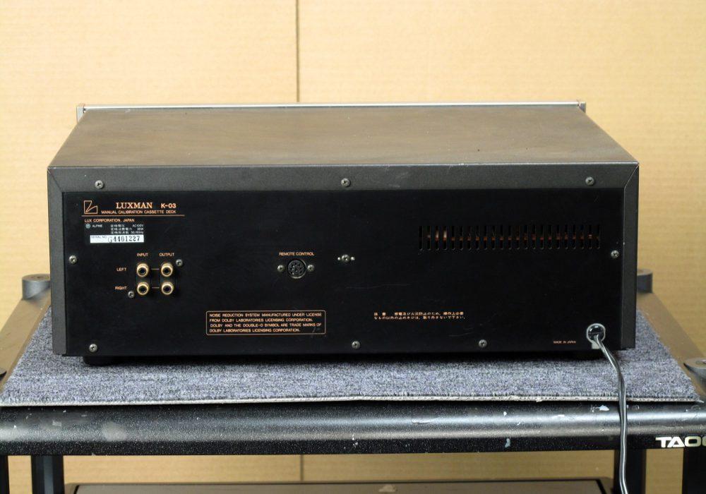 LUXMAN K-03 卡座