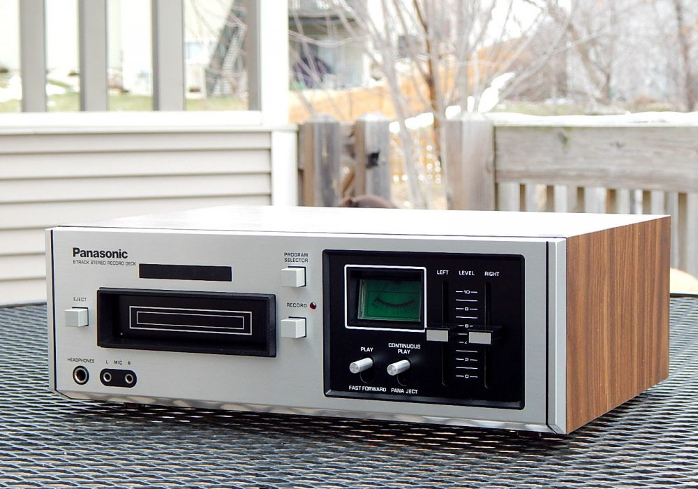 松下 Panasonic RS-805 8 Track Tape 8轨磁带卡座