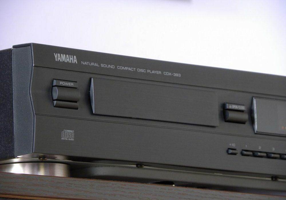 雅马哈 YAMAHA CDX-393 CD 播放机