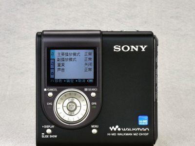 SONY MZ-DH10P Hi-MD MD随身听