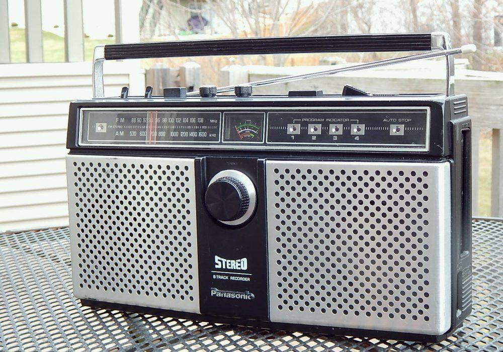 松下 Panasonic RS-838S AM/FM 8轨磁带收录机