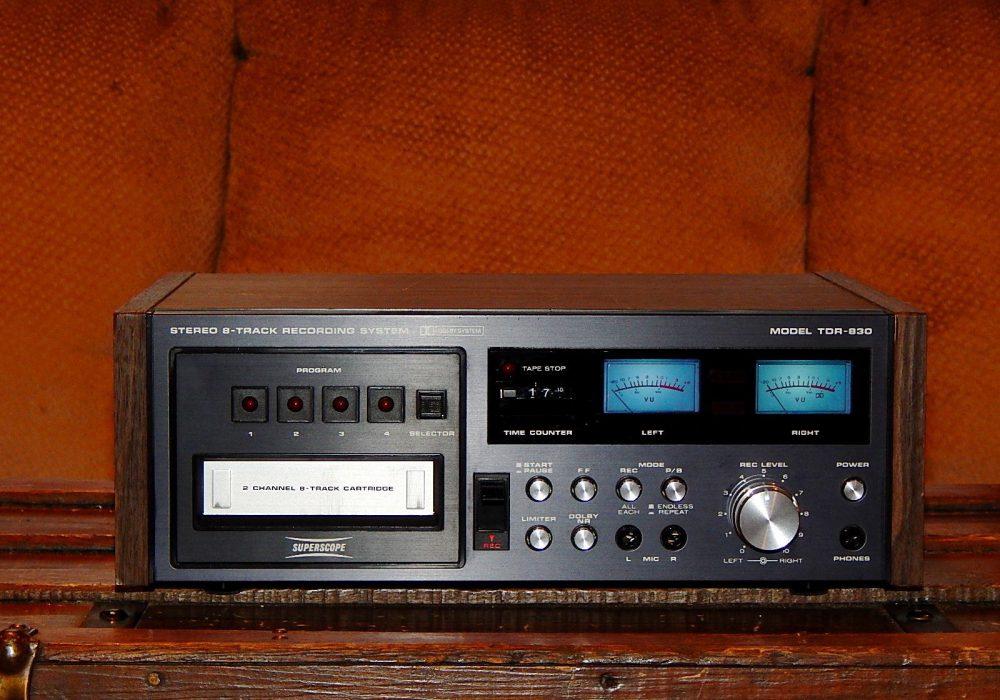 马兰士 Marantz Super Scope TDR-830 8 Track Tape 8轨磁带卡座
