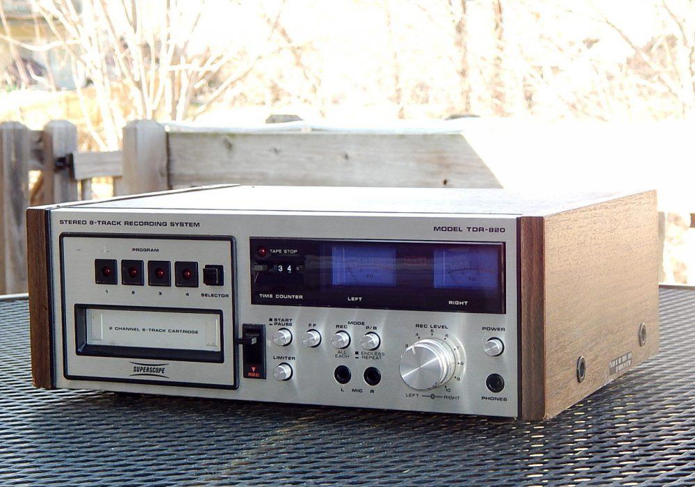 马兰士 Marantz Super Scope TDR-820 8轨磁带卡座
