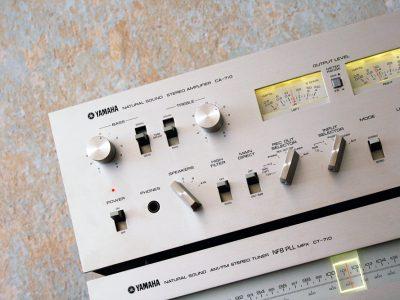 YAMAHA CA-710 功率放大器 + YAMAHA CT-710 收音头