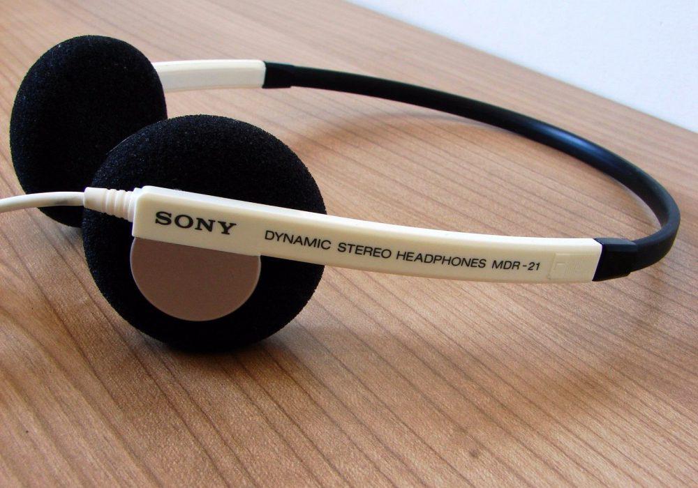 索尼 SONY mdr-21 audífonos estéreo dinámicos