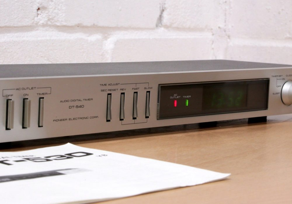 PIONEER DT-530 Audio System Timer