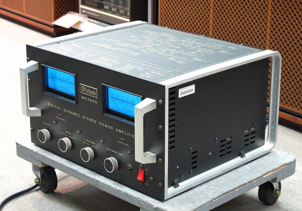 MC2600 McIntosh マッキントッシュ パワーアンプ(トランジスター)