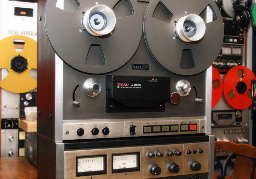 TEAC A-6700 Reel to Reel 开盘机