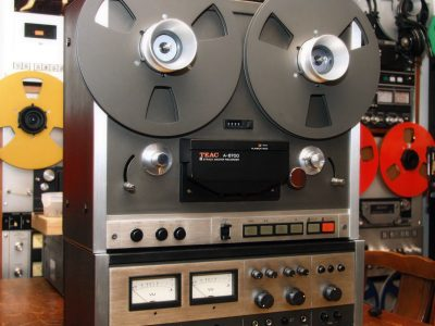 TEAC A-6700 Reel to Reel 开盘机