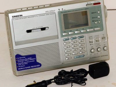 SANGEAN ATS 818ACS MW/LW/SW 收音 磁带录音机