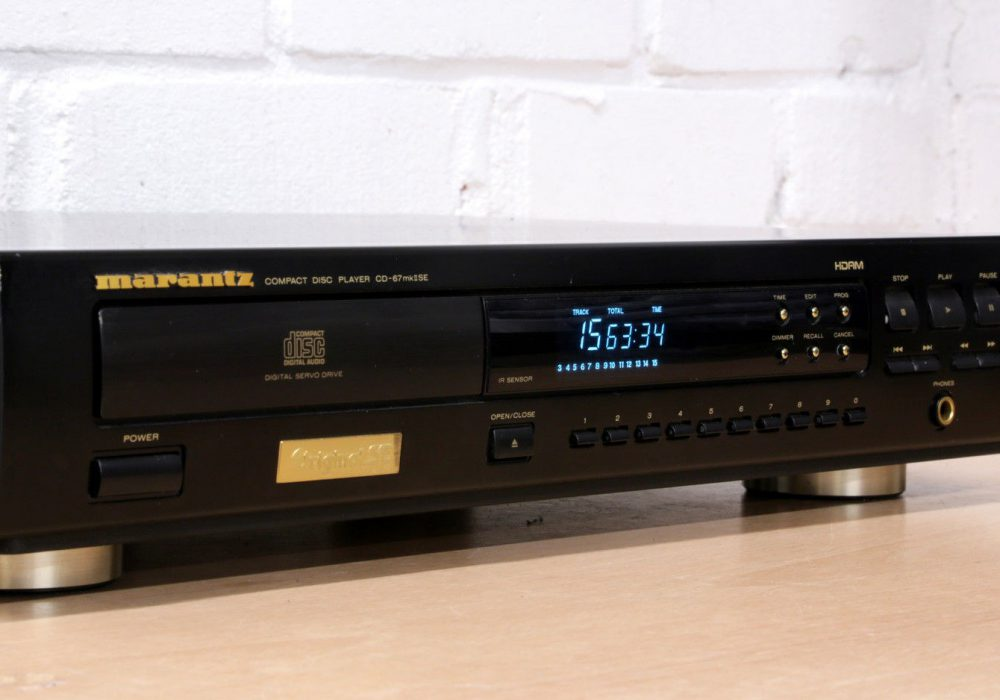 MARANTZ CD-67MKII CD播放机