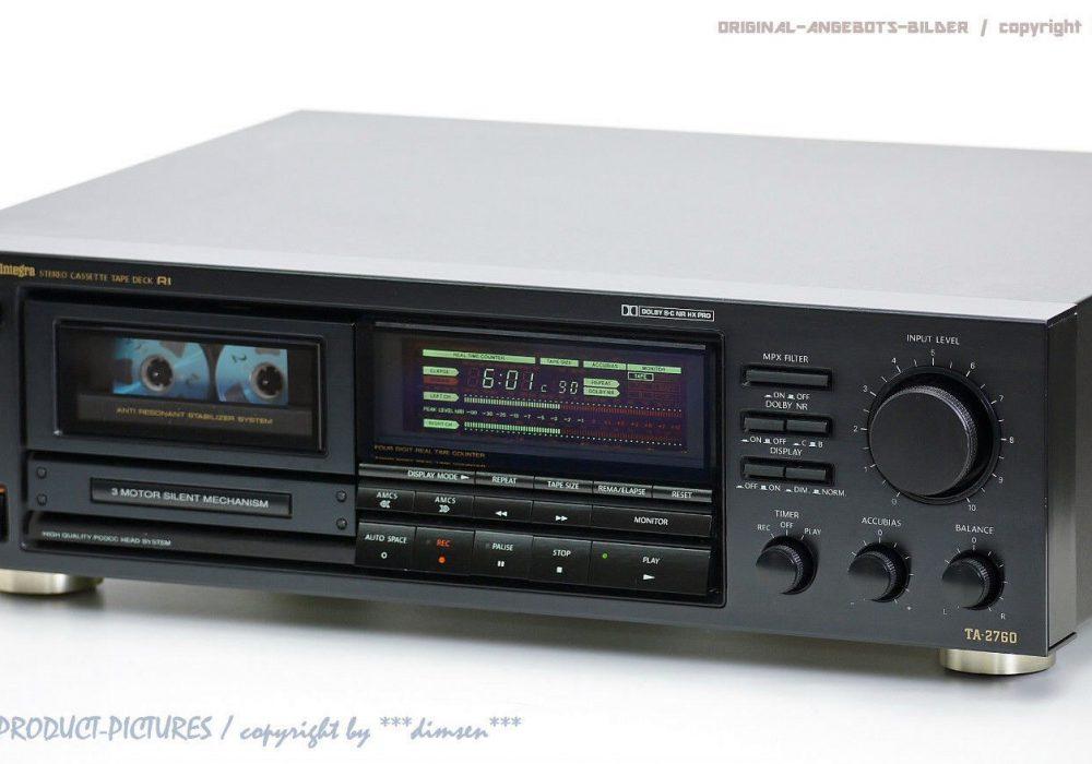 ONKYO Integra TA-2760 High-End 三磁头 卡座