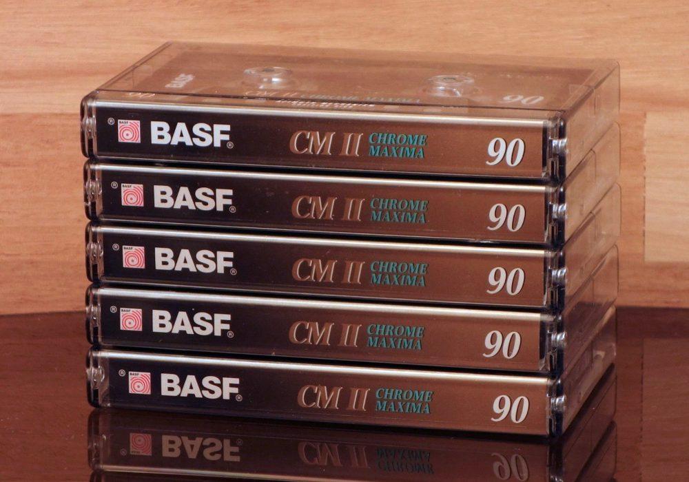 BASF CM II Chrome Maxima 90 盒式录音带